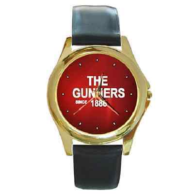 **new* The Gunners Since 1886 Arsenal Round Wristwatch **super Gift Item**