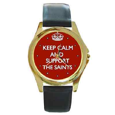 Keep Calm & Support Your Football Team Club Fans Wristwatch - Great Gift Item