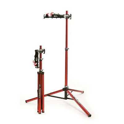Feedback Sports Pro Elite 16021 Bike Bicycle Folding Repair Stand Red