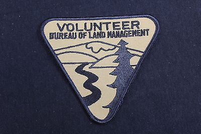 Bureau Of Land Management Volunteer Patch Nos