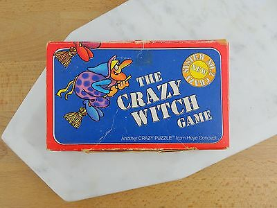 Vintage The Crazy Witch Card Puzzle Game 1980 Price Stern Sloan