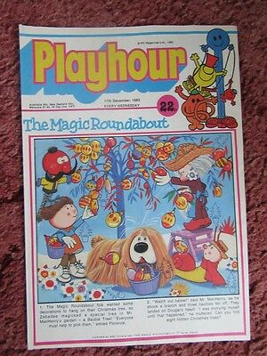 Playhour Comic 17 December 1983. Nr Mint/mint. Unread Unsold Newsagents Stock.