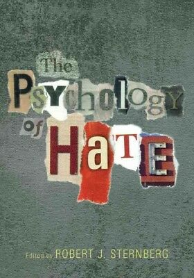 The Psychology of Hate by Robert J. Sternberg Hardcover Book (English)