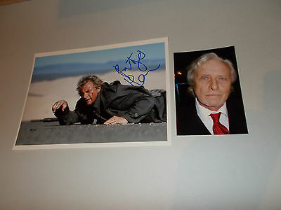Rutger Hauer The Hitcher signed signiert Autogramm auf 20x28 Foto in person