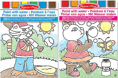 Melissa & Doug PAINT WITH WATER Toddler/Child Craft/Painting Toy/Gift - New