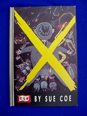 RAW One-Shot 6 : Malcolm X by Sue Cole + Art Spiegelman. 1st edition (1986).
