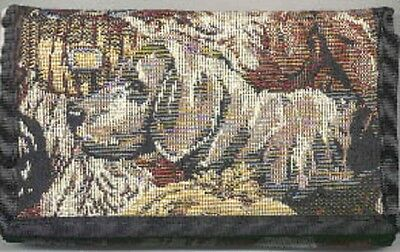 Tapestry Fabric WEIMARANER Ladies Wallet/Checkbook