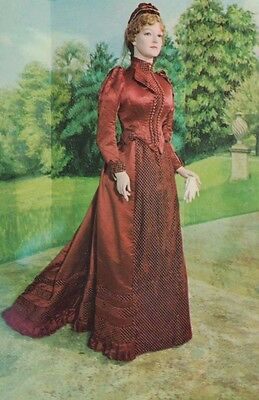 Assembly Rooms Bath Victorian Satin Carriage Dress Waxwork Somerset Old Postcard