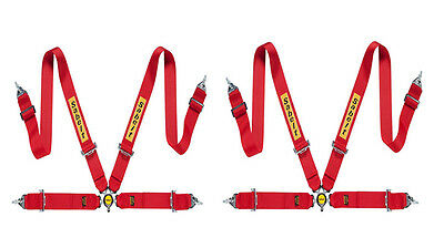 Sabelt 4 point Harness Pack CCB433PACK FIA Steel ECO