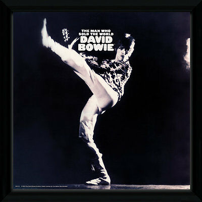 """GB Eye 12"""" Vinyl Cover Frame David Bowie - The Man Who Sold The World NEU+OVP!"""