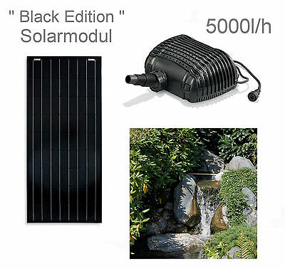 100 w solar teichpumpe bachlaufpumpe filter tauch pumpe solarpumpe gartenteich eur 349 00. Black Bedroom Furniture Sets. Home Design Ideas