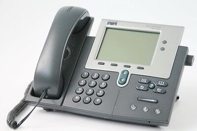 Cisco Systems Unified IP Phone 7941G VoIP LCD SCCP *TOP ZUSTAND*