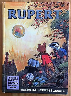 RUPERT ORIGINAL ANNUAL 1968 Inscribed Not Price Clipped Very Good MP Done