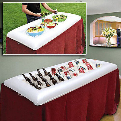 Inflatable Portable Party Buffet Salad Bar Serving Drink Ice Cooler Keep It Cool