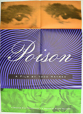 POISON (1991) Original Small One Sheet Movie Poster - Todd Haynes, Edith Meeks