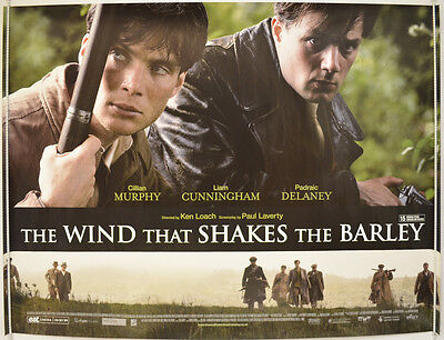THE WIND THAT SHAKES THE BARLEY (2006) Cinema Quad Movie Poster - Cillian Murphy