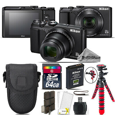 Nikon Coolpix A900 20MP Digital Camera 35x Optical Zoom + 64GB - Essential Kit