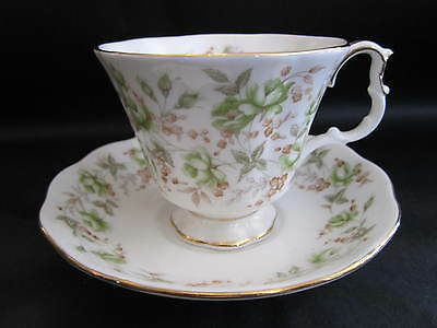 "Royal Albert Eng China Tea Cup&saucer Rose Chintz Series ""green Velvet"""