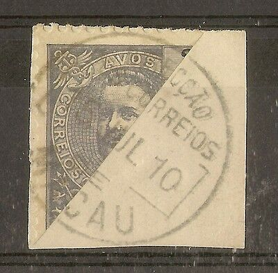 Macao 1903 3A Bisect Cancel