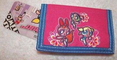 New With Tags Pink  Powerpuff Girls Trifold   Wallet