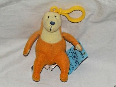 "New With Tag Big Bear In The Blue House Backpack Plush Clip 4"" Tall"