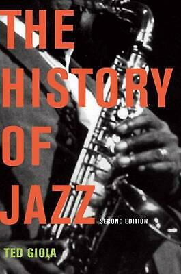 The History of Jazz by Ted Gioia Paperback Book (English)