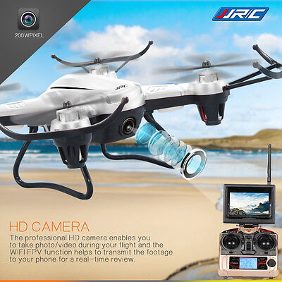 JJRC H32GH 5.8G FPV Moniteur 2.0MP Caméra 2.4GHz 6 Axis Gyro RC Quadcopter Drone