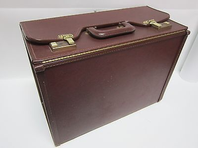 Briefcase Stebco Tufide Trade Show File Carry Case Luggage Business Organizer