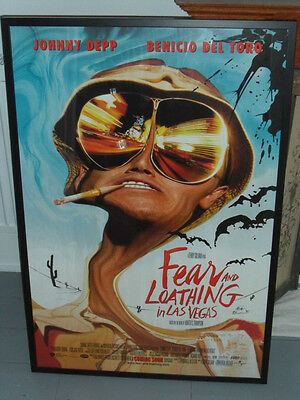 Framed - FEAR AND LOATHING IN LAS VEGAS - ORIGINAL U.S. ONE SHEET CINEMA POSTER