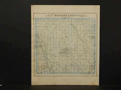 Ohio, Trumbel County Map, 1874 Township of Howland K4#13