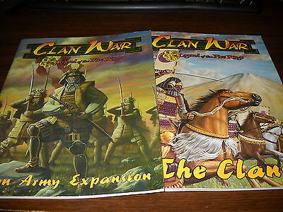 Clan War: The Clans and Lion Clan Expansion Books
