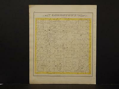 Ohio, Trumbel County Map, 1874 Township of Lordstown K4#16