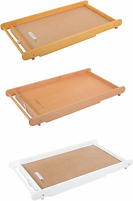 East Coast BABY BED/CRIB TOP CHANGER + TOWEL RAIL Baby Nursery Furniture - New