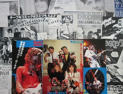 21PAGE CHEAP TRICK in JAPAN ROBIN ZANDER RICK NIELSEN 1978 CLIPPING ML 6A