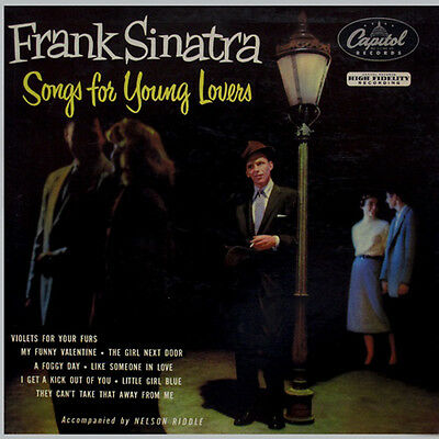 Frank Sinatra Songs For Young Lovers Lp Vinyl New 33Rpm