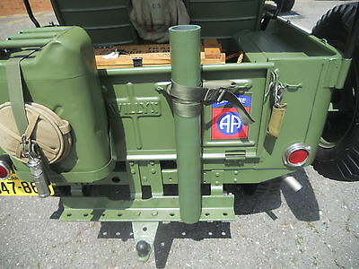 WILLYS CJ-2A Cargo Tube--Also Fits All Willys Vehicles With Civilian Draw Bar