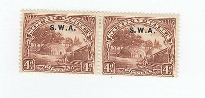 South Africa & South West Africa Mint & Used Collection Cat Value $386.75