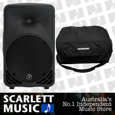 "Mackie SRM-350 V3 1000w Active 10"" Speaker SMR350 - w/3 Years Warranty + Gigbag"