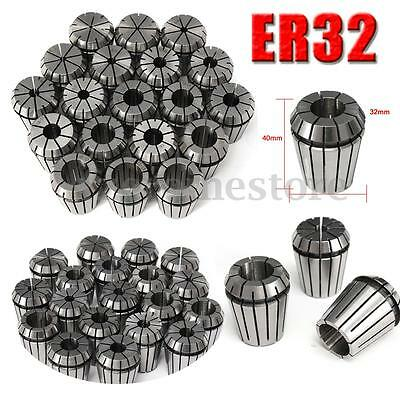 19Pcs ER32 Spring Collets Set 2-20mm ER32 Collet For CNC Engraving Machine