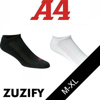 A4 Performance No Show Socks. S8001