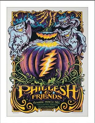 Phil Lesh And Friends  -2016  -Halloween -Aj Masthay - Capitol Theatre -  Dead