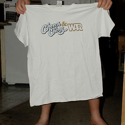 Cheech & Chong W War Concert T Shirt Low Rider Culture Large New Mint Comedy 420