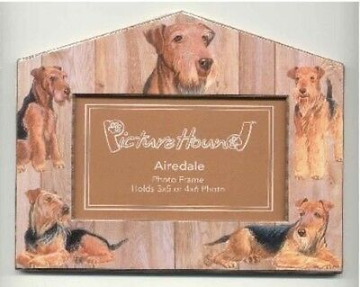 Dog Breed Frame AIREDALE Cute Picture Frame CLEARANCE SALE