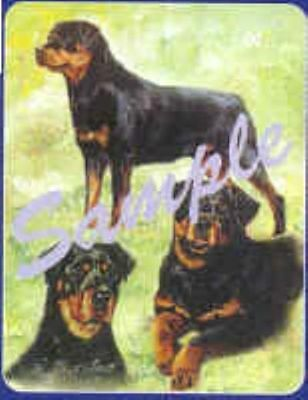 Dog Breed Playing Cards ROTTWEILER CLEARANCE SALE
