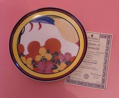 Wedgwood Clarice Cliff PALERMO Limited Edition Plate