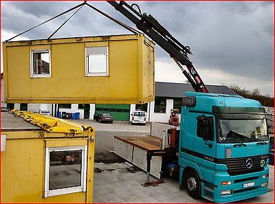 TRANSPORT SEE-CONTAINER, Baucontainer, Container, Imbisscontainer, Seecontainer