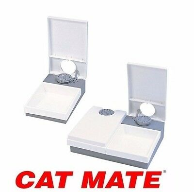Cat Mate Automatic Feeder Dog Cat Pet Timer Timed Feeder - Pet Mate