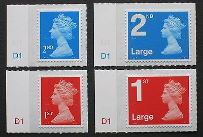 2016 M16L SET of 1st, 1st Large, 2nd, 2nd Large NVI CYL Singles - Counter Sheets