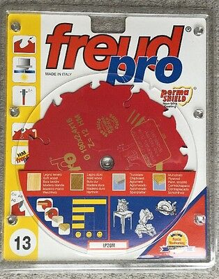 Freud Pro 190 Dia 16mm Bore 12 Tooth Saw Blade 2.4mm Width LP20M For All Woods