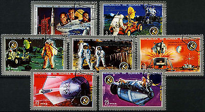 Equatorial Guinea 1972 Space Flight Of Apollo 15 Cto Used Set #D39416